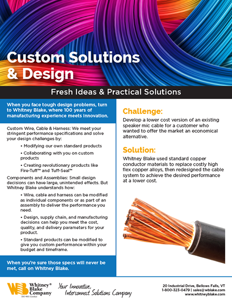 Custom Solutions Case Study